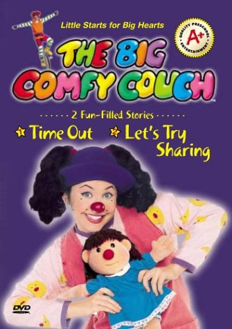 The Big Comfy Couch: Time Out/Let's Try Sharing (Couchs For Children)