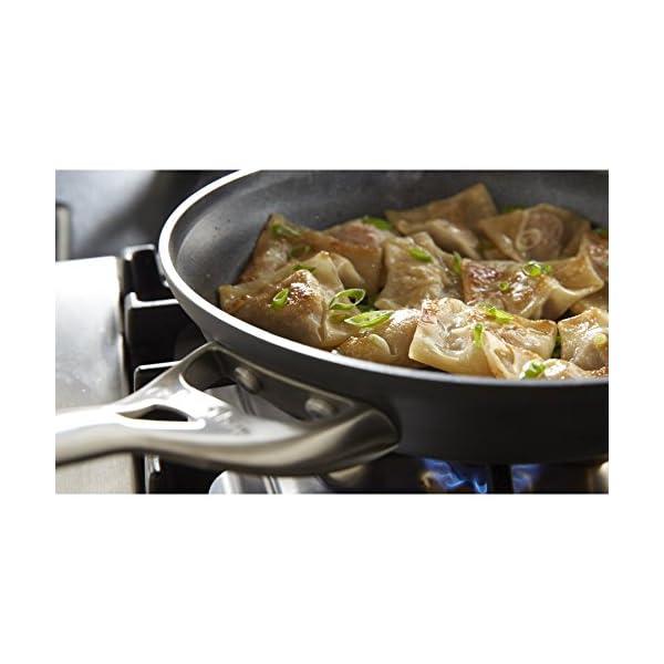 Calphalon 2 Piece Contemporary Frying Pan Set, Nonstick, Black 6