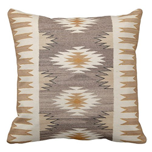 - Emvency Throw Pillow Cover Colorful Tribal Nature Color Western Geometric Patterns Decorative Pillow Case Home Decor Square 20 x 20 Inch Pillowcase