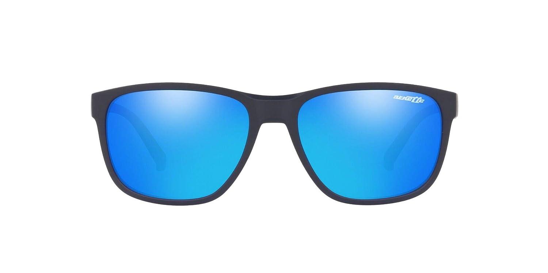 Arnette Mens Urca Rectangular Sunglasses 57 mm Dark Blue