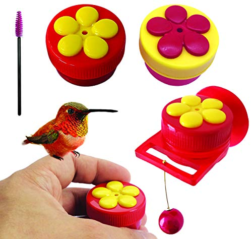 Aroma Trees Handheld Hummingbird Feeders Original Design with Perch (Mix Color) (2, Mix) For Sale