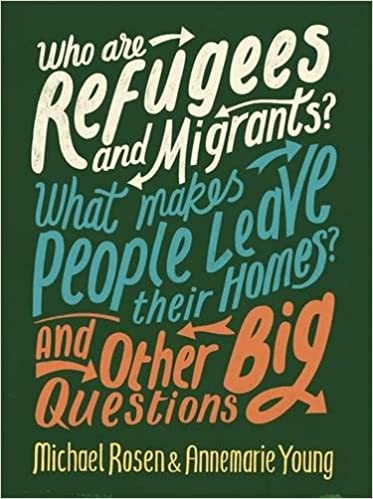 Image result for who are refugees and migrants michael rosen