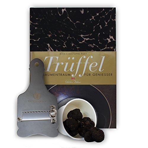 Trüffel-Starter-Set mit frischem Trüffel, Hobel und Kochbuch