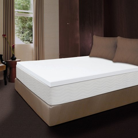 Comfort Revolution MT200501 2 In. Memory Foam Topper - California King