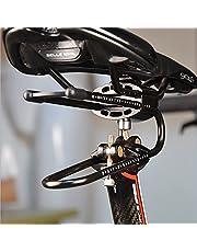 CawBing Fietszadelpen, demper, legering, verenstaal, vering, apparaat voor mountainbike, mountainbike, road, fiets, schokdemper, fietsen, onderdelen zilver