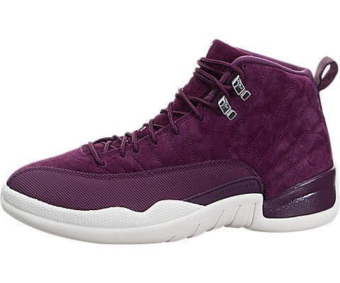 Nike Men's Air Jordan 12 Retro Sail/Metallic Silver 130690-617 (SIZE: 9) by NIKE