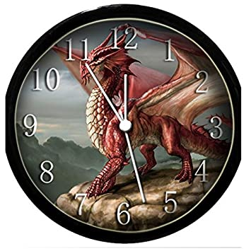 Glow In the Dark Wall Clock – Red Dragon