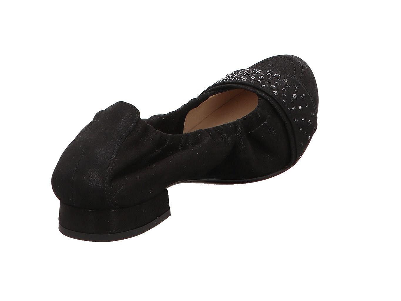 Hassia Hassia Hassia Damen Ballerinas Bologna 300957-01000 schwarz 407843 eeb2bc