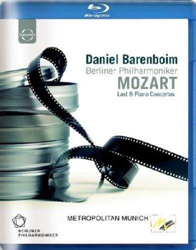 Blu-ray : Berlin Philharmonic Orchestra - Mozart's Last 8 Piano Concertos (Blu-ray)