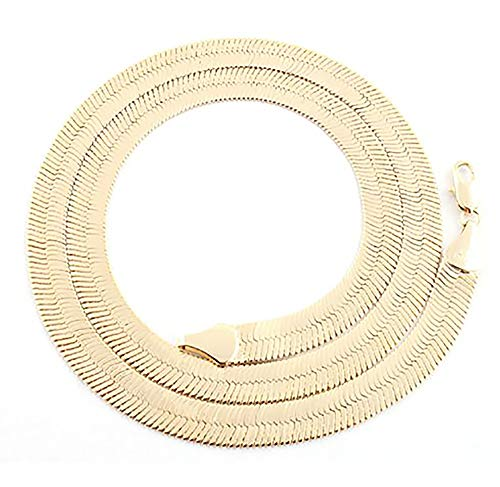 JOTW Goldtone 7mm 20 Inch Herringbone Chain Necklace (P-31)