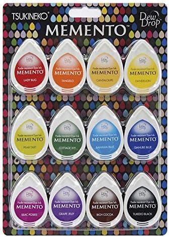 Arizona Canyons Tsukineko 4-Pack Assortment Memento Dew Drops Fade-Resistant Ink