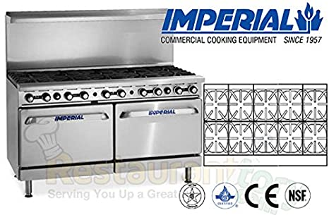 Amazon.com: Imperial Commercial Restaurant Range 60\