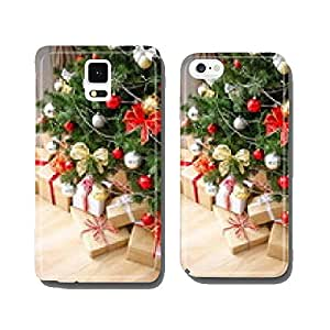 Christmas tree with gifts cell phone cover case Samsung S5