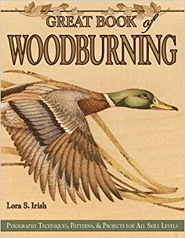 Great book of woodburning pyrography techniques patterns and great book of woodburning pyrography techniques patterns and projects for all skill levels fox chapel publishing 30 original traceable patterns and maxwellsz