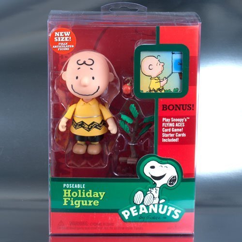 Peanuts Christmas Charlie Brown With Pathetic Tree Mid Scale Action Figure Charlie Brown Pathetic Christmas Tree