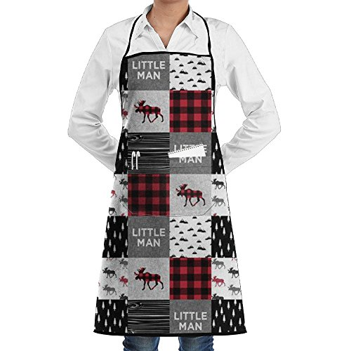 Canada Moose Fun Chef Kitchen Apron Adjustable Shrinkage Tailgate Grilling Grill - Personalization Canada
