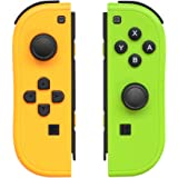 Joy-Con Controller Replacement for Nintendo Switch,JoyCon Controllers Replacement with Straps Support Wake-up Function…