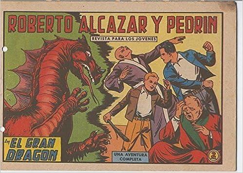 Roberto Alcazar y Pedrin original numero 0641: El gran dragon: Vaño: Amazon.com: Books