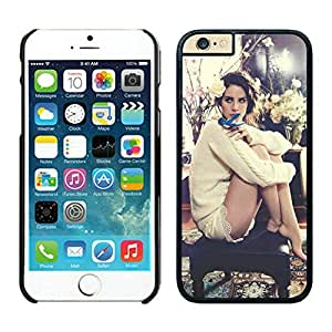 Genuine iPhone 6 Phone Case Lana Del Rey Protective Skin Cover Case For iPhone 6 4.7 TPU Case 068