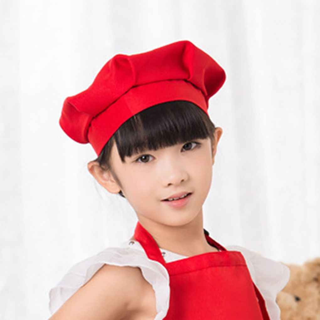 Bobury Erwachsene Kinder Chef Pilz Cap Kuchen Arbeits Chef Hut Kochen Hut Chef Cap