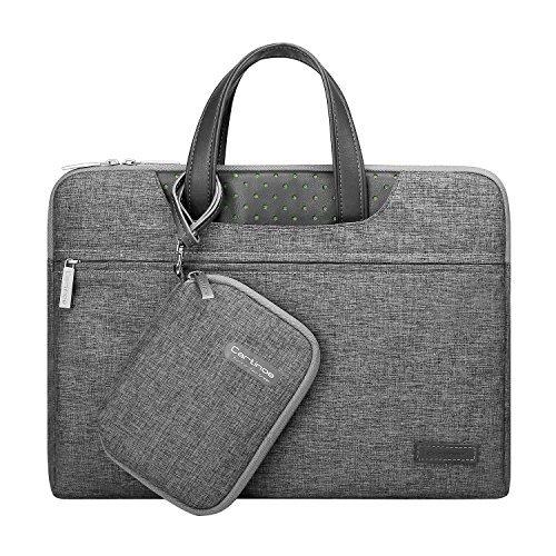 Cartinoe 11 - 15.6 Inch Laptop Sleeve Bag Men's Briefcase Business Women Handbag Notebook Carrying Case for Macbook Air Pro/ Dell / HP / Acer / ASUS / Lenovo Notebook (14 - 15 inch, Dark Grey) Hewlett Packard Business Notebook