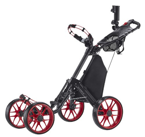 caddytek-one-click-folding-4-wheel-version-3-golf-push-cart-red