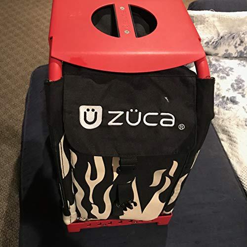 Zuca SIBO032 Sport Insert Bag Obsidian Black Logo Embroidery in Red White 89055900032 ()