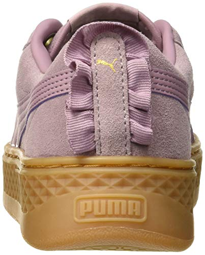 Gold Scarpe Platform Basse Frill Puma Donna puma Smash elderberry Ginnastica Viola Team Da qt7xpT