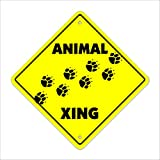 Animal Crossing Sign Zone Xing   Indoor/Outdoor   12' Tall love zoo cat dog bird fish all any