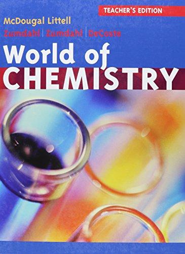 World of Chemistry Update: Teacher Edition