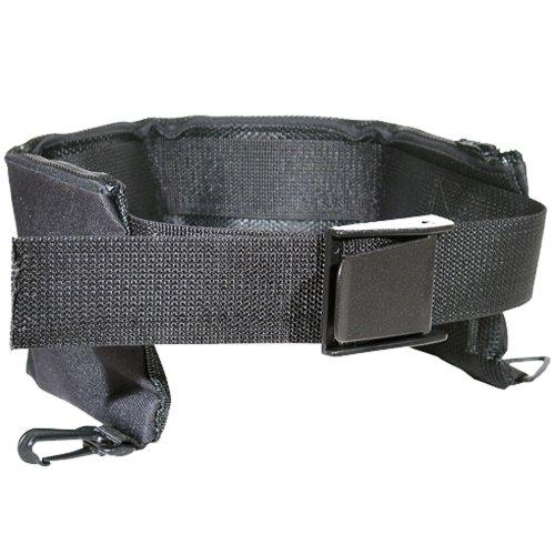 - JCS 5 Pocket Cordura Nylon Mesh Weight Belt (34inch-42inch), Black
