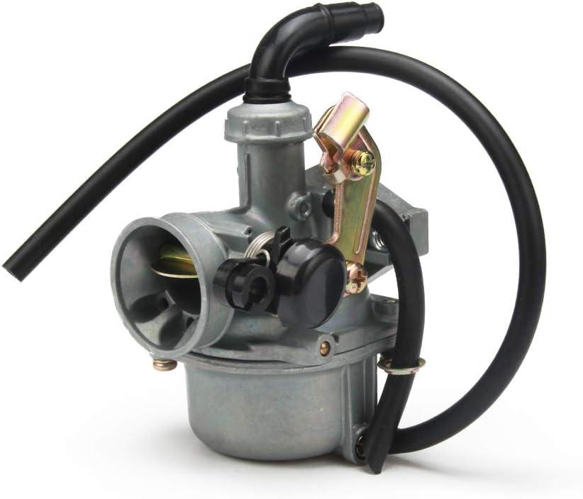 YSMOTO PZ19 PZ C/âble de carburateur 19 mm pour Moto Quad Singe 70 CC 80 CC 90 CC 100 CC 110 CC Quad