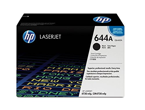 HP 644A (Q6460A) Black Original Toner - Packard Remanufactured Laserjet Hewlett