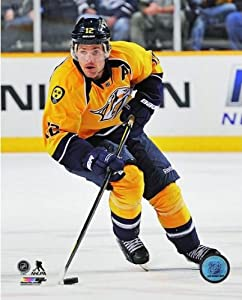 Mike Fisher Nashville Predators NHL Action Photo 8x10