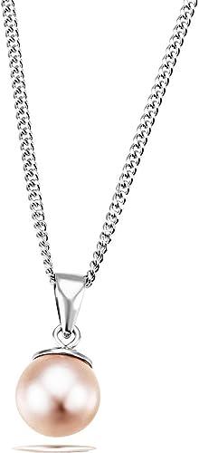 goldmaid Mujer 925 Sterlingsilber plata redonda Perlas del Mar del Sur (australianas)
