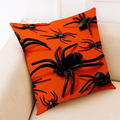 MOKO-PP Home Decor Cushion Cover Happy Halloween Throw Pillowcase Pillow Covers(D) -