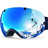 ZIONOR XA Ski Snowboard Snow Goggles for Men & Women Anti-fog UV Protection