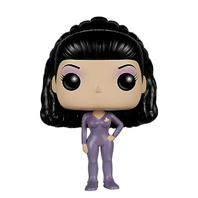 Funko POP TV: Star Trek The Next Generation - Deanna TROI Action Figure: Funko Pop! Television:: Toys & Games