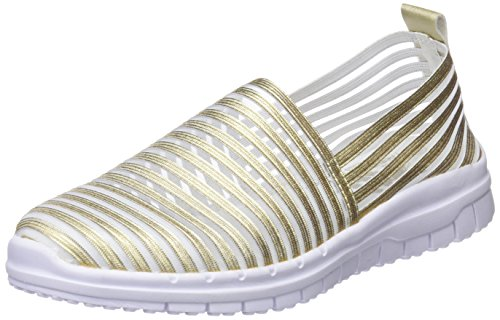 XTI Damen 48059 Slip On Sneaker Gold