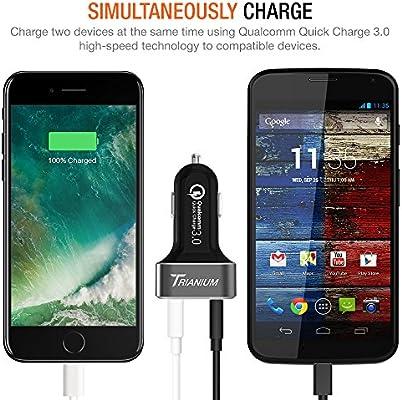 trianium Quick Charge 3.0 & USB Type-C 63 W 2 puertos USB ...
