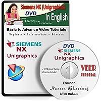 Siemens NX 9 Unigraphics (UG) 10 Hrs Training, 92 HD Videos in English