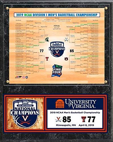 (Virginia Cavaliers 2019 NCAA Final Four Bracket Photo Plaque (Size: 12