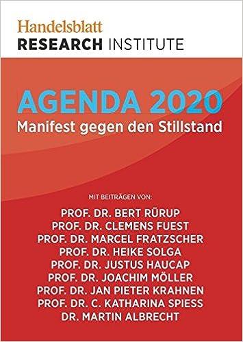 Agenda 2020: 9783844281460: Amazon.com: Books