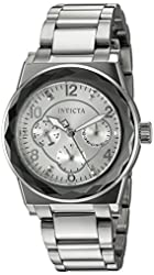 Invicta Women's 'Angel' Quartz Stainless Steel Casual Watch (Model: 22107)