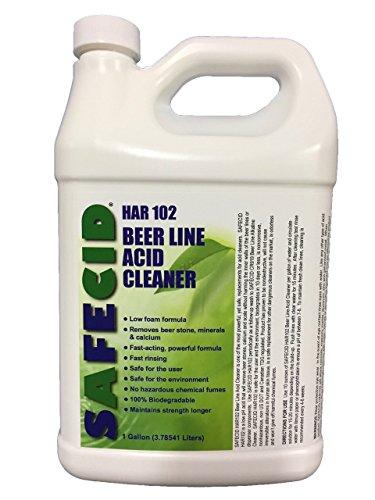 Beer Line Acid Cleaner (2 Pack Gallon) by SAFECID
