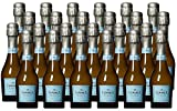 La Marca DOC Veneto Prosecco Sparkling Wine Mini Bottles, 24 x 187 ml