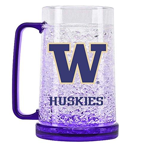 NCAA Washington Huskies 16oz Crystal Freezer Mug ()