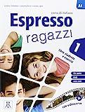 italian espresso 1 with cd - Espresso Ragazzi: Libro studente e esercizi + CD audio + DVD 1