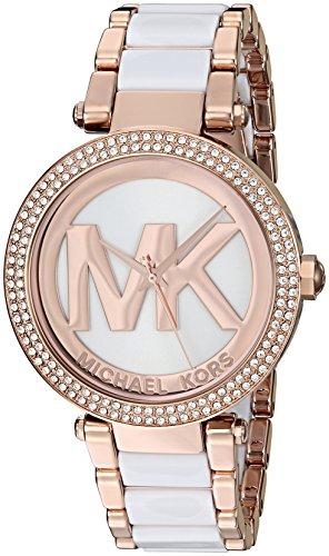 Michael Kors Women's Parker Rose Gold-Tone Watch MK6365