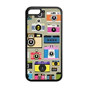 Lmf DIY phone caseCamera Design Solid Rubber Customized Cover Case for iphone 5/5s iphone 5/5s-linda36Lmf DIY phone case